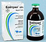 БАЙТРИЛ 10 % Раствор для инъекций (Baytril 10 %)