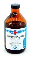 РАСТВОР НАТРИЯ ХЛОРИДА 0.9% ИЗОТОНИЧЕСКИЙ (Solutio Natrii chloridi 0,9 % isotonica)