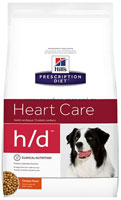 Хиллс Лечебный Корм для собак с заболеваниями сердца (Hill`s Prescription Diet Canine H/D)