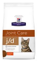Хиллс Лечебный корм для кошек с заболеваниями суставов (Hill